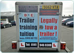 learn to tow a trailer